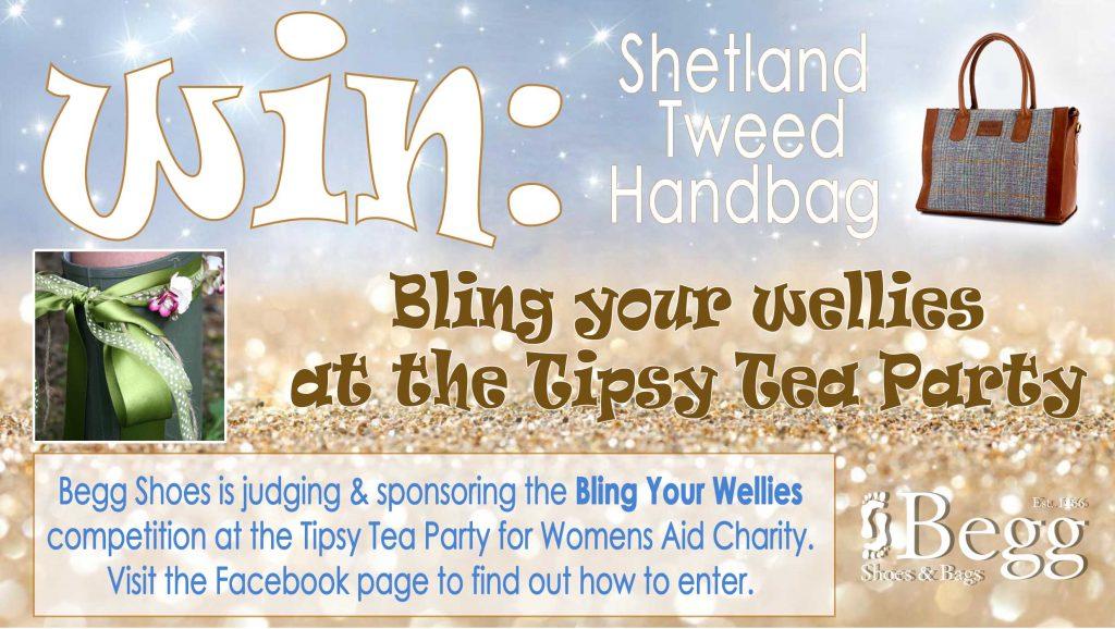 win a shetland tweed bag