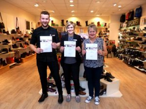 kirkwall shoe shop - good customer service