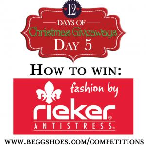 Win Rieker Shoes