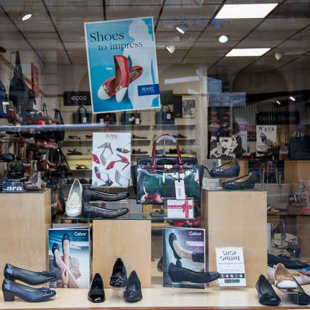 Begg Shoe Shop Inverness