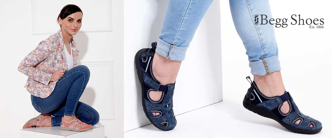 Earth Spirit Closed Toe Sandals