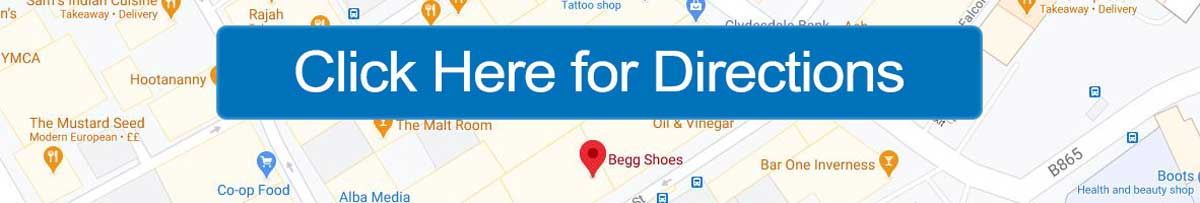 Get Directions for Begg Shoes Union Street Inverness