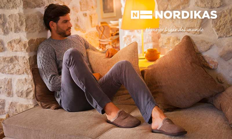 Mens Nordikas Slippers