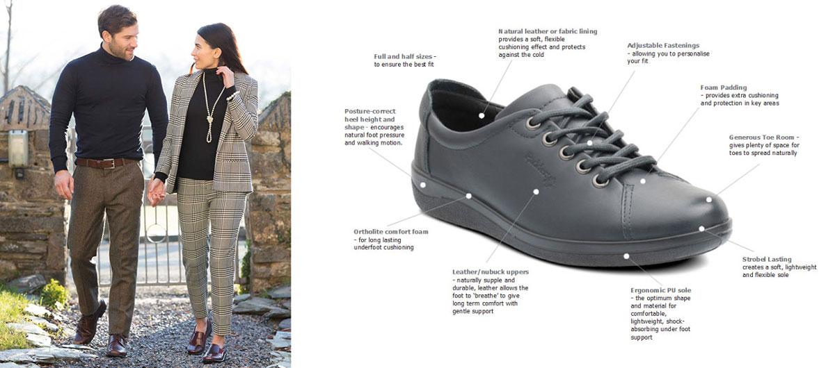 Padders Comfort Shoes