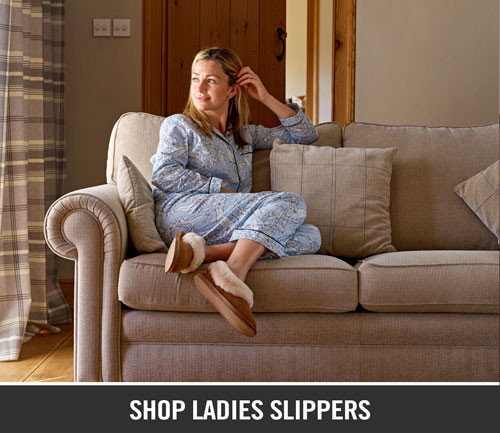 Padders Ladies Slippers