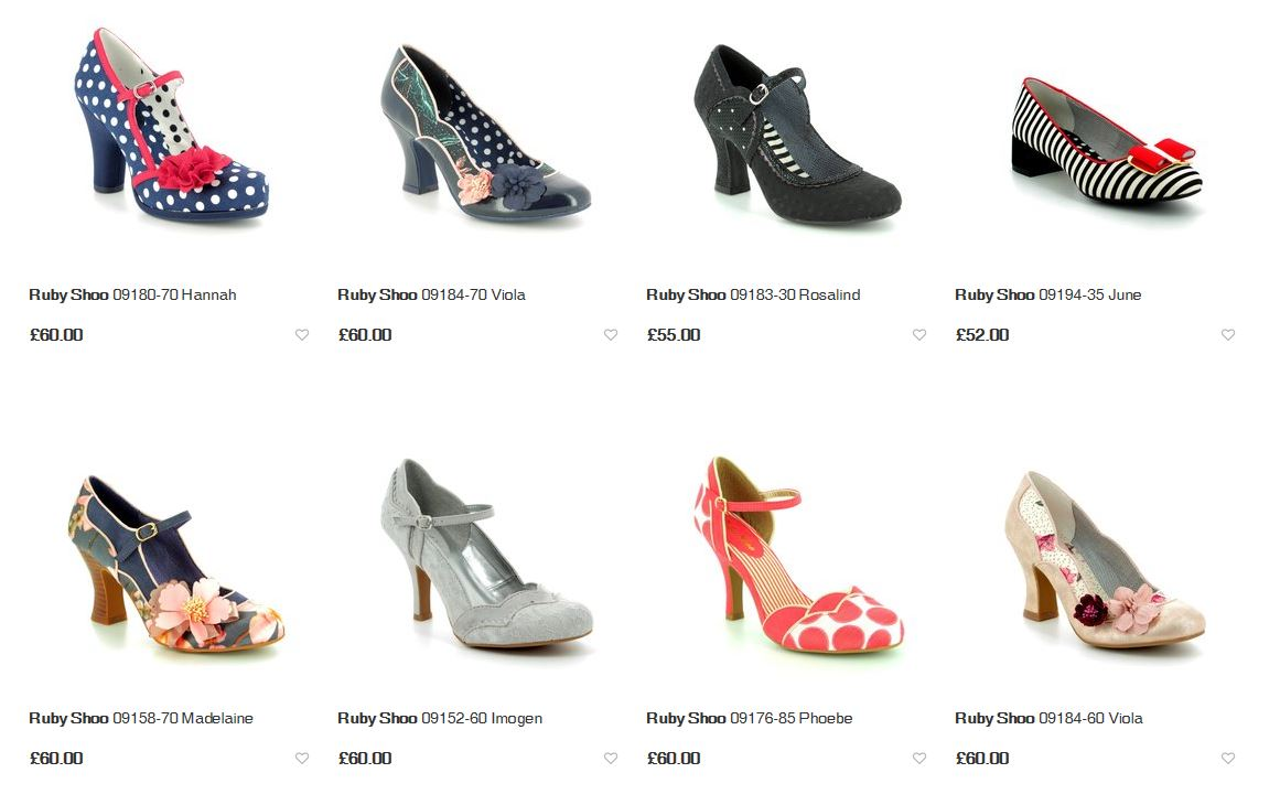 Ruby Shoo New Arrivals