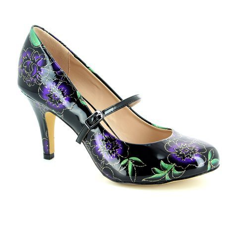 Lotus Heeled Shoes