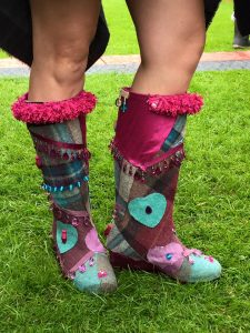 Bling your wellies