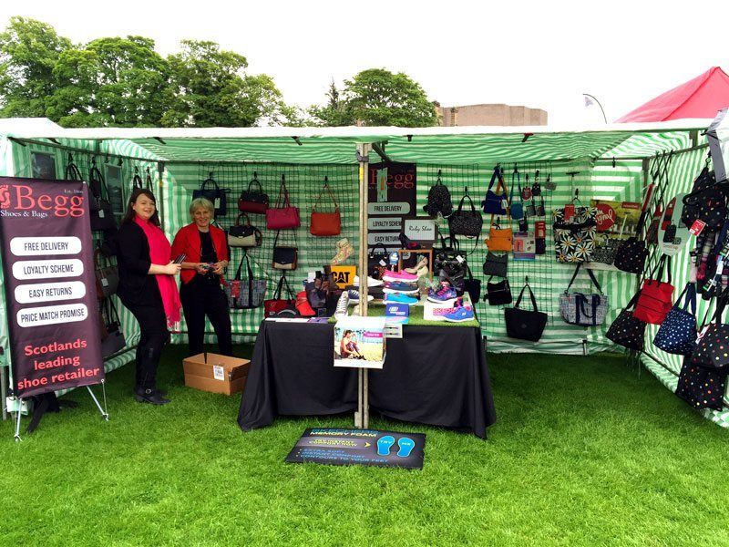Begg Shoes Stall