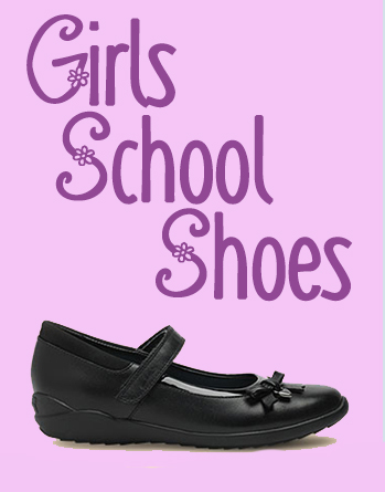 Shop girls school shoes