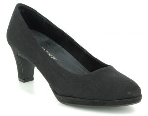 Marco Tozzi Black Court Shoes