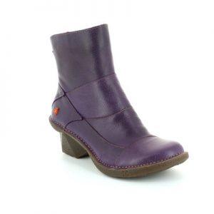 Art Purple Boots