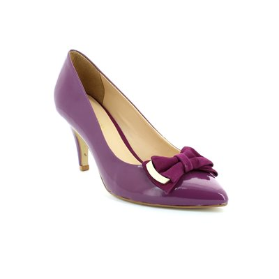 Ambition Purple Heeled Shoes