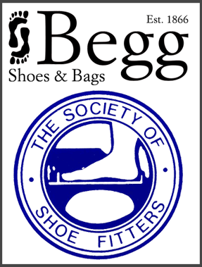 shoe fitting at Begg Shoes