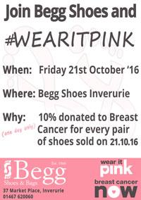 wear it pink poster