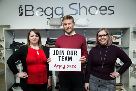 Join the Begg Shoes Team