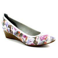 Floral court shoes