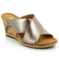Gabor wedge sandals