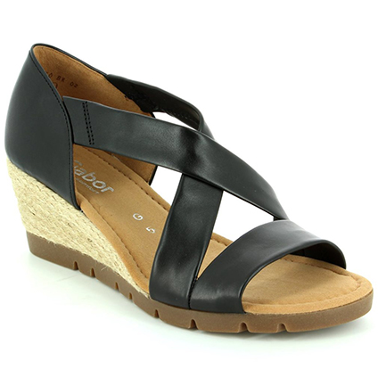 Gabor Wedge Sandals