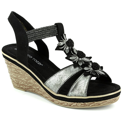 Marco Tozzi Wedge Sandals