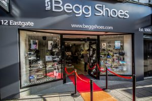 new flagship shoe shop