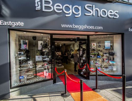 New Flagship Shoe Store & Website