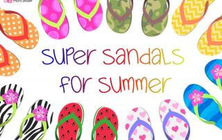Super sandals for summer