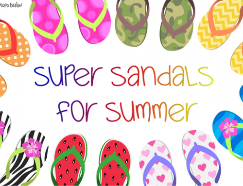 Super Sandals for Summer