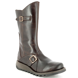 Fly London Long Brown Boots