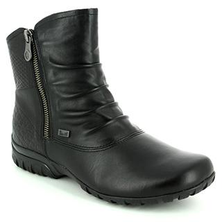Rieker black boots