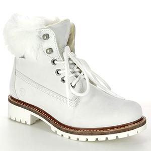 Tamaris White Boots