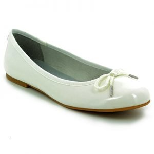 Tamaris White Pumps