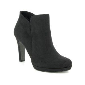 Tamaris Lycoris Black Ankle Boots