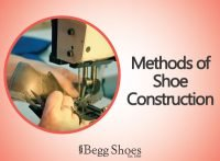 Shoes - methods of construction
