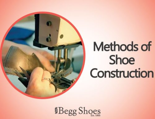 Construction Methods used in Shoe Manufacturing
