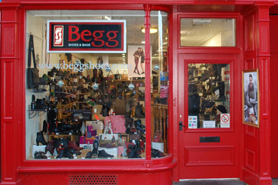 Begg Shoes Elgin