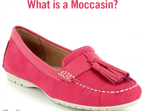 What is a Moccasin shoe?