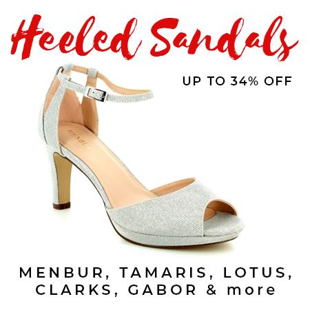 Heeled sandals on sale