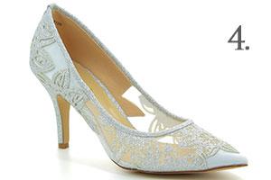 Lotus Wedding Heels