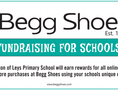 Begg Shoes: Fundraising for Milton of Leys Primary School