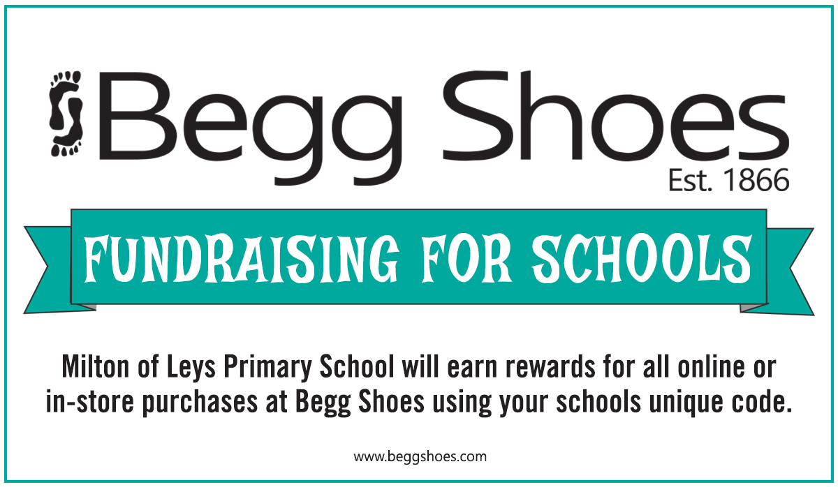 Begs Shoes Schools Fundraising