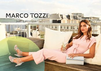 Marco Tozzi Silver Shoes