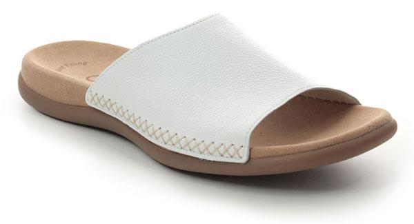 Gabor Eagle Slide Sandals for Bunions