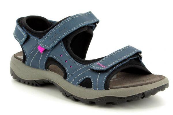 IMAC Lake Navy Walking Sandals for Bunions
