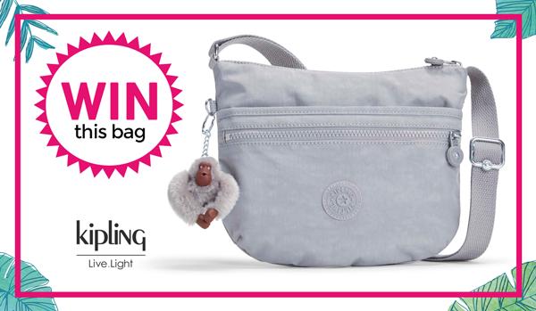 Kipling bag giveaway