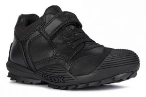 Boys Savage Bungee School Shoes