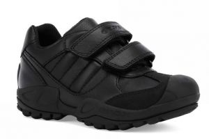 Savage Low Boys School Shoes