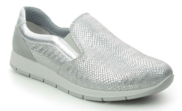 IMAC Silver Slip on Trainers
