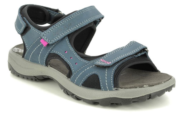 IMAC Navy Walking Sandals