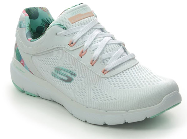 Skechers White Trainers Summer